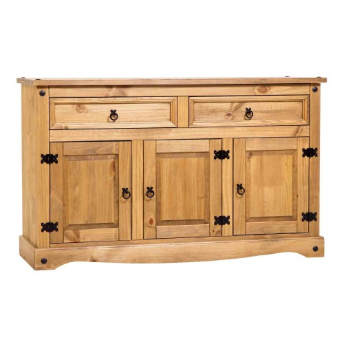 medium sideboard corona premium waxed pine