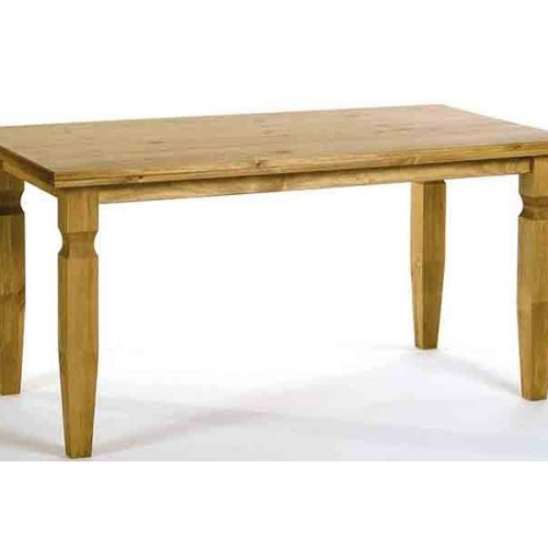800mm dining table cotswold waxed pine