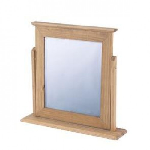 single mirror cotswold waxed pine