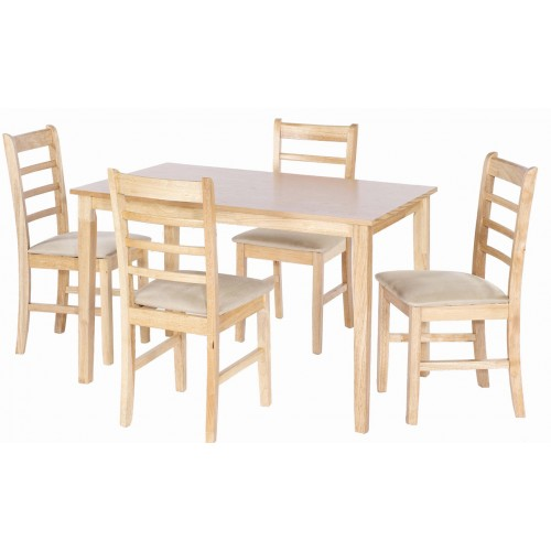 LYDIA DINING SET (4 SEATER)
