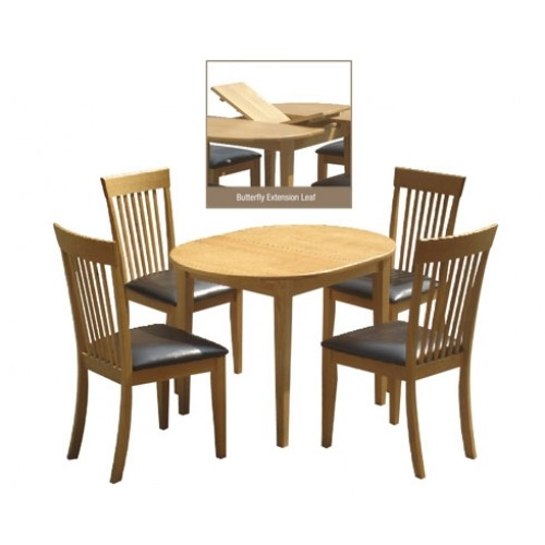 DEVON EXTENDING DINING SET (4 SEATER)