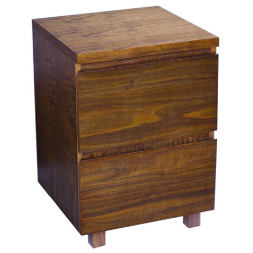 MALVERN 2 DRAWER BEDSIDE