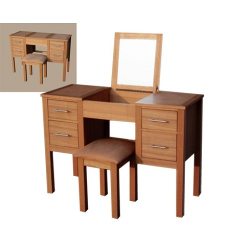 OAKRIDGE DRESSING TABLE & STOOL