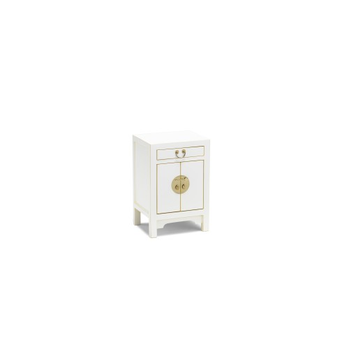 40413 - The Nine Schools Qing White Small Cabinet