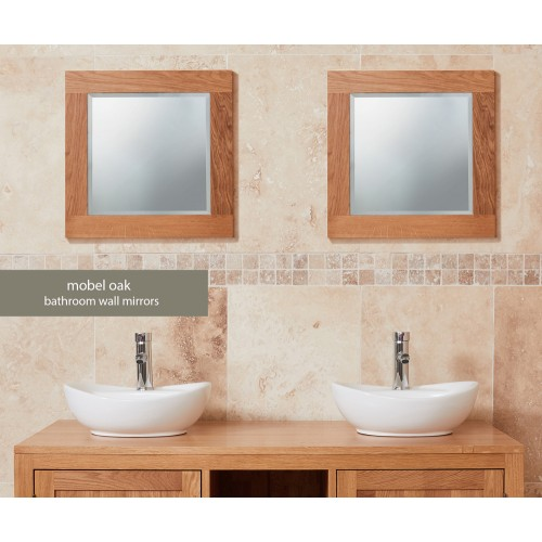 Bathroom Collection - Solid Oak Mirror (Small)