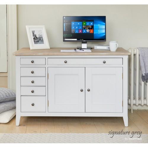 Signature Hidden Home Office Desk