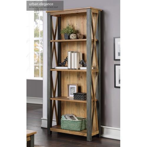 Urban Elegance - Reclaimed Tall bookcase