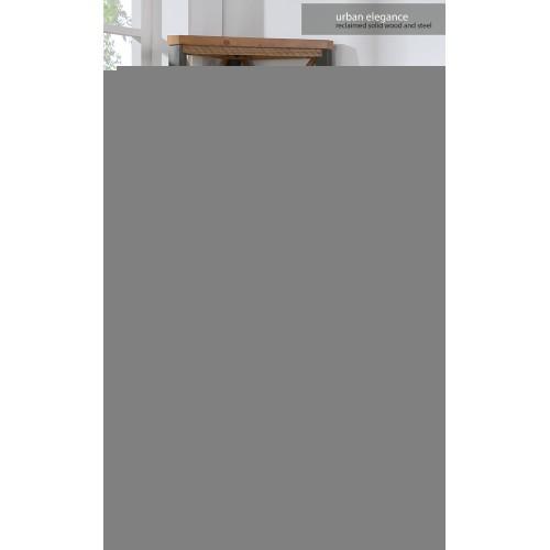 Urban Elegance - Reclaimed Large Corner Bookcase