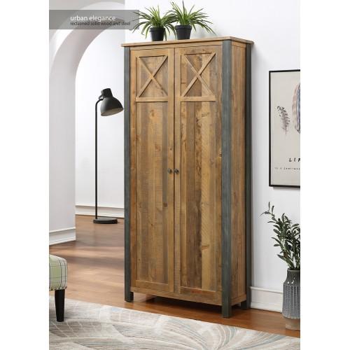 Urban Elegance - Reclaimed Living Room Storage Cabinet