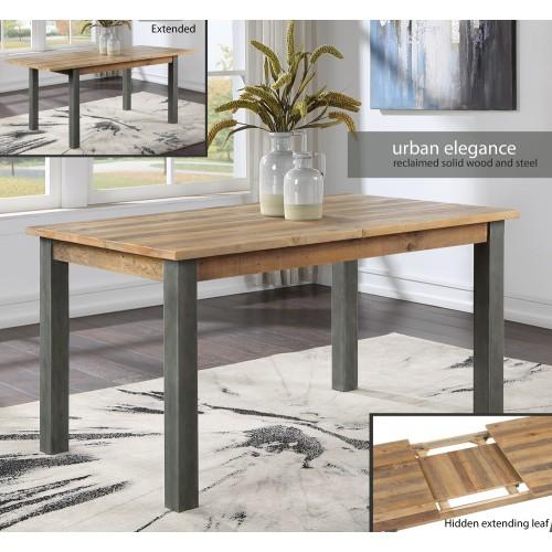 Urban Elegance - Reclaimed Extending Dining Table