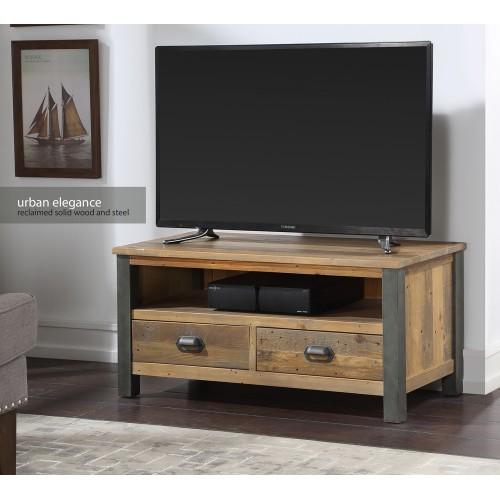 Urban Elegance - Reclaimed Widescreen TV Cabinet