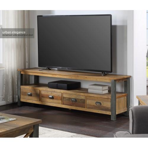 Urban Elegance - Reclaimed Extra Large Widescreen TV unit