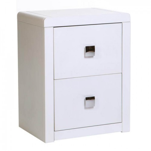 2 Drawer Bedside Cabinet Plaza