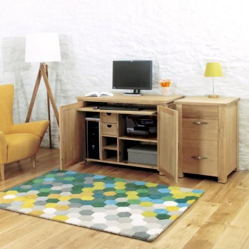 Aston Oak Hidden Home Office