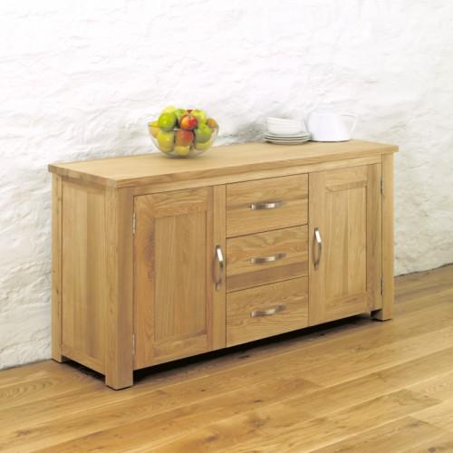 Aston Oak Large Sideboard