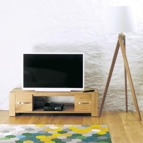 Aston Oak Widescreen Television Cabinet