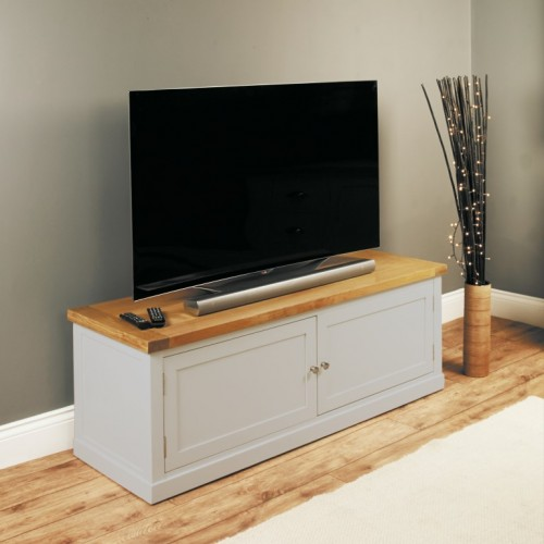 Chadwick Widescreen TV Cabinet With Cupboard
