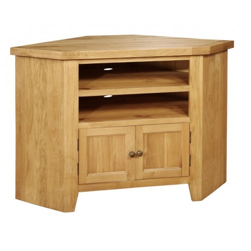 Elegance Oak Corner TV Unit