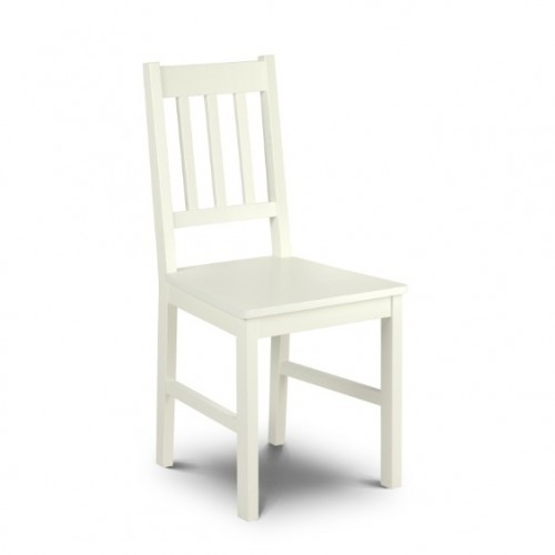 Cameo Chair Stone White Finish