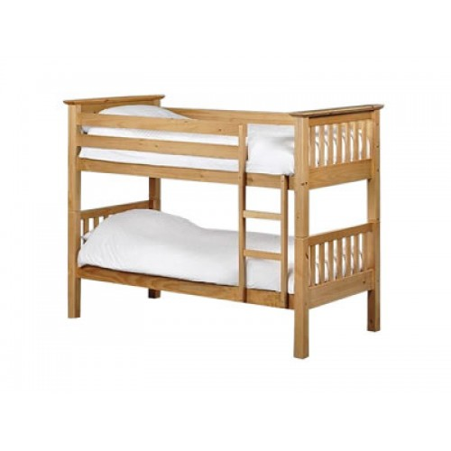Barcelona Bunk Bed Antique Pine Finish