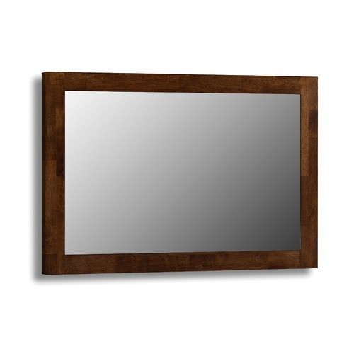 Minuet Wall Mirror Wenge Finish
