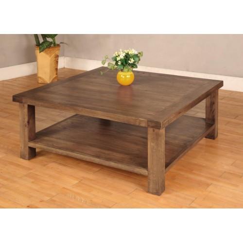 Coffee Table 1000mm x 1000m Rustic Oak