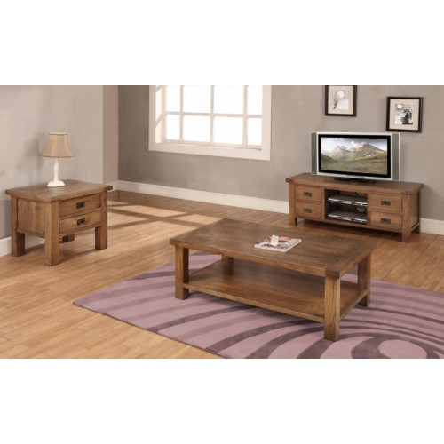 Coffee Table 1200mm x 700mm Rustic Oak