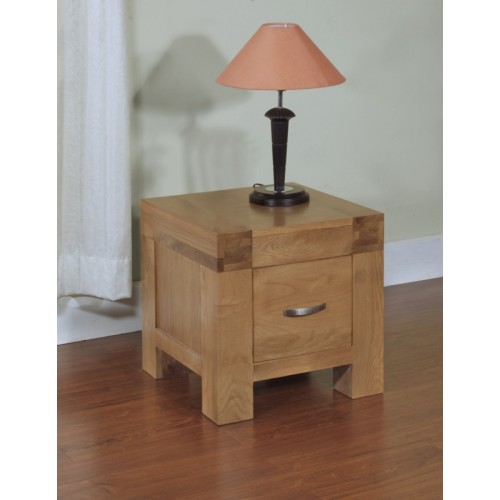 Lamp Table with 1 drawer Satana Blonde