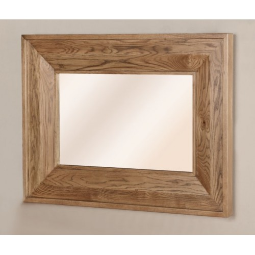 Small Rectangular Mirror (1100x800mm) Rustic Oak