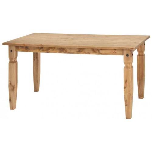 1500mm dining table Corona Waxed Pine