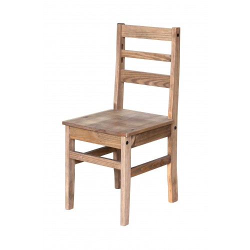 antique waxed hacienda pine chair  Hacienda Waxed Pine