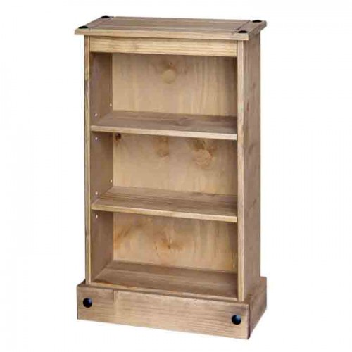 medium CD-DVD unit Corona Waxed Pine