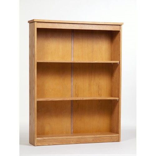Low Wide Bookcase Traditional