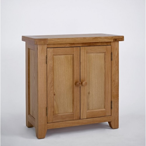 Devon Oak 2 Door Cupboard