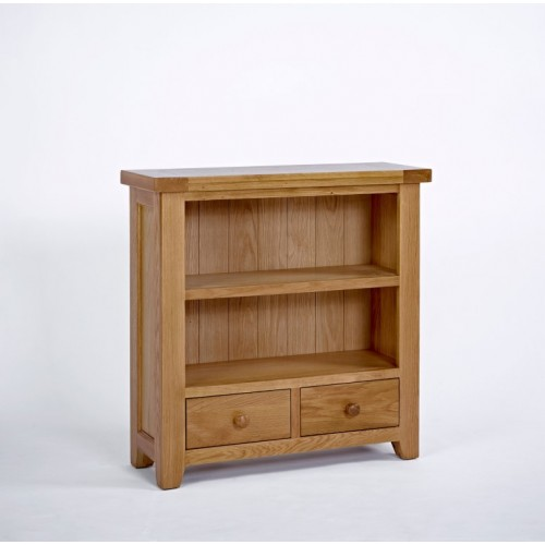 Devon Oak Low Bookcase