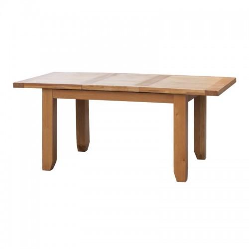 Acorn Solid Oak Extending Table Large