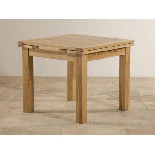 Acorn Solid Oak Extending Table Small
