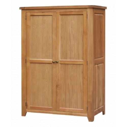 Acorn Solid Oak Wardrobe 2 Door Full Hanging