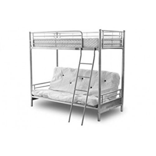 Alaska Futon Bunk Bed Silver