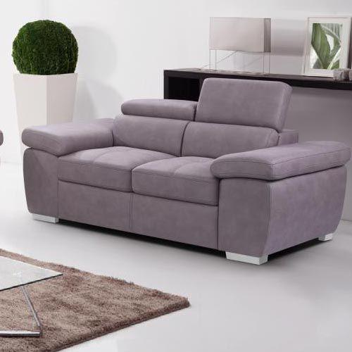 Amando Fabric 2 Seater Sofa Beige