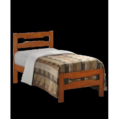 Amelia Solid Wood Single Bed Cherry