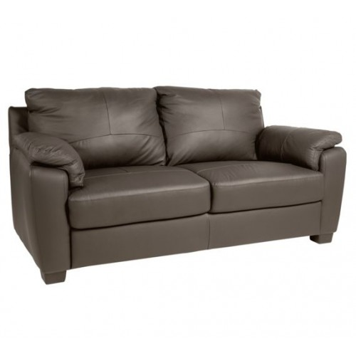 Amy Sofa Bonded Leather 2 Seater Chocolate