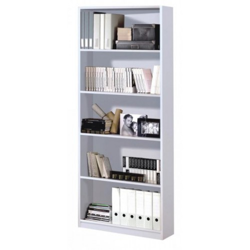 Arctic Book Shelf 5 Shelves High Gloss White