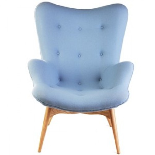 Avani PU Chairs Chrome & Green