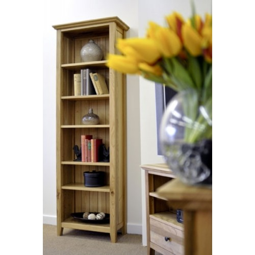 Hereford Rustic Oak 6ft x 2ft Bookcase