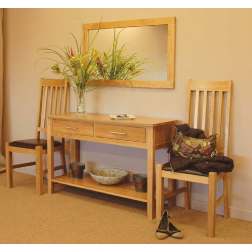 Hereford Oak Hall Table