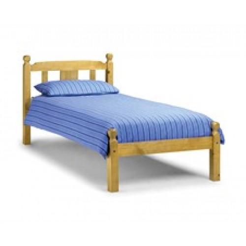 Elliot Bed Pine 90cm Antique Finish