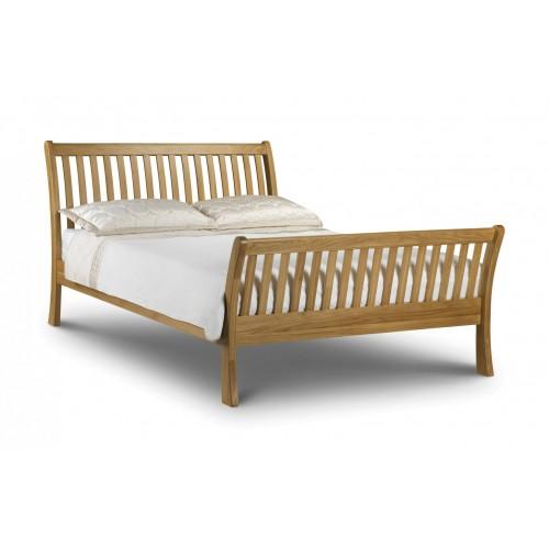 Leona Oak Bed 150cm