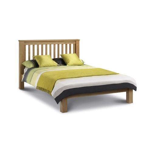Amsterdam Oak Bed 135cm