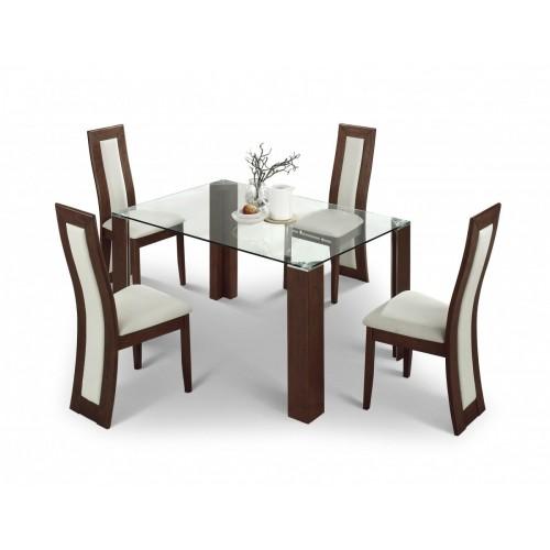 Mistral Dining Table Sets Walnut Finish